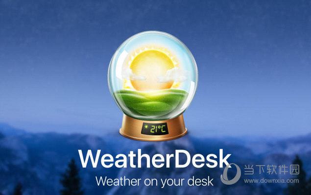 WeatherDesk MAC版