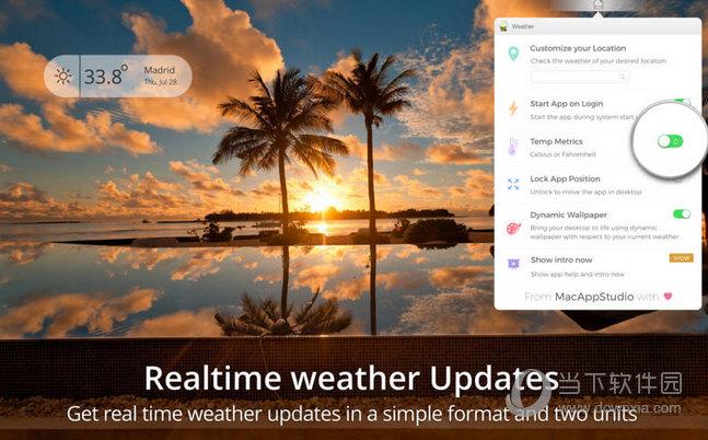 WeatherDesk MAC版下载