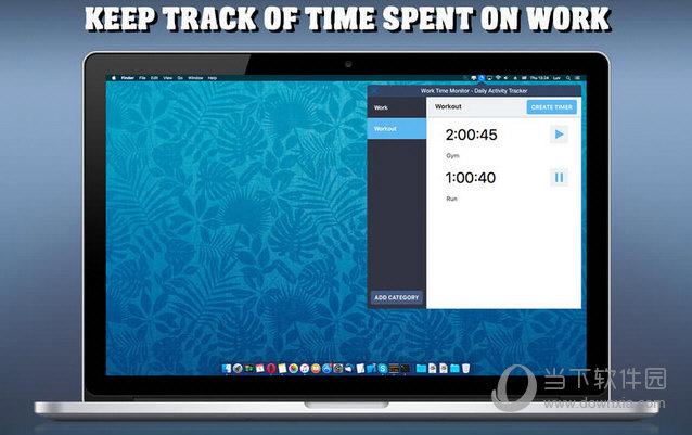 Work Time Monitor MAC版