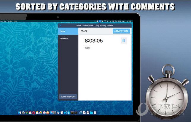 Work Time Monitor MAC版下载