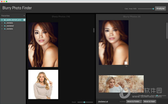 Blurry Photo Finder for MAC