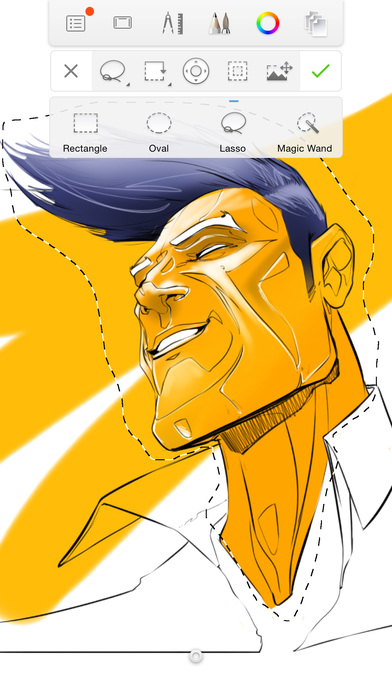 Autodesk SketchBook V4.1.8 安卓版截图4