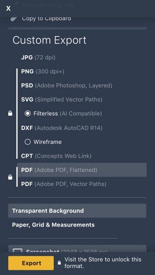 概念画板Pro破解版 V5.4 安卓版截图5