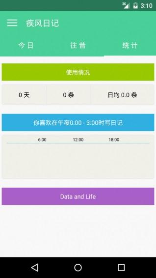 疾风日记 V1.4.2 安卓版截图3