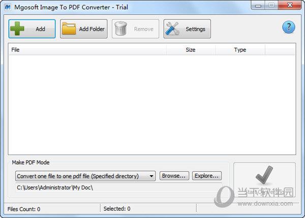 Mgosoft Image To PDF Converter