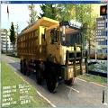 旋转轮胎联合重工卡车MOD V1.0 绿色免费版