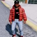 GTA5红色羽绒服夹克MOD V1.0 绿色免费版