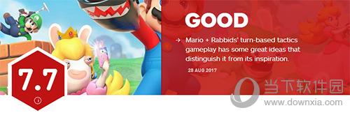 马里奥与疯兔IGN评分