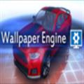 Wallpaper Engine黑红战斗系JK少女动态壁纸 免费版