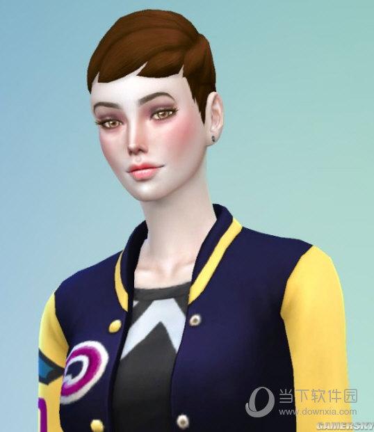 模拟人生4超龄中性短发御姐博诺MOD