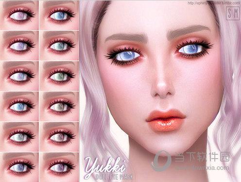 模拟人生4洋娃娃美瞳包MOD