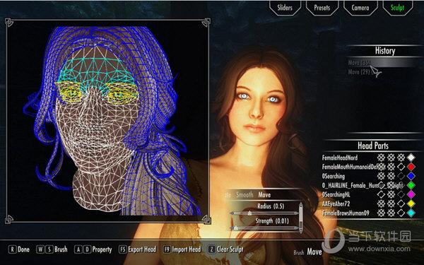 上古卷轴5RaceMenu捏脸系统