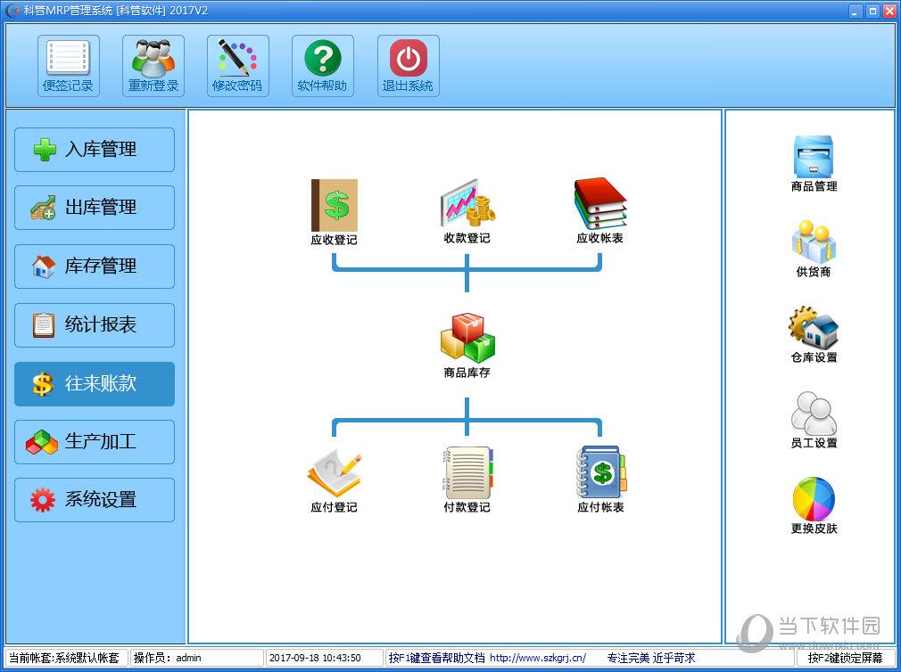 科管MRP管理系统