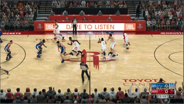 NBA2K18去除比赛水印