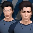 模拟人生4男士帅气干练发型MOD 免费版