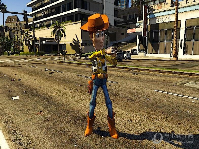 GTA5玩具总动员牛仔伍迪MOD