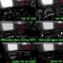 欧洲卡车模拟2全卡车黑色内饰MOD 免费版