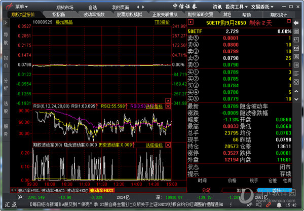 中信证券期权全真模拟交易系统汇点全真版