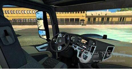 欧洲卡车模拟2全方位自由视角MOD
