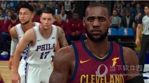 NBA2K18仿LIVE版詹姆斯MOD