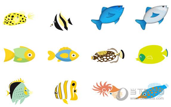 可爱小丑鱼系列图标