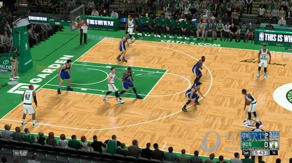 NBA2K18波士顿花园球馆真实补丁