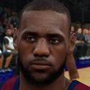 NBA2K18仿LIVE版詹姆斯面补 免费版