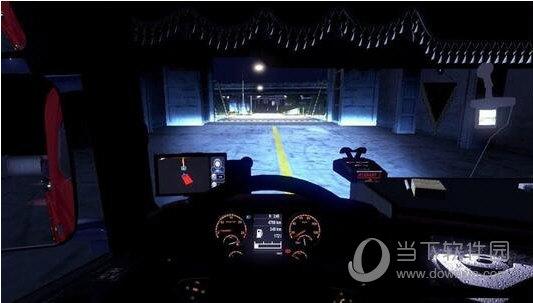欧洲卡车模拟2全车头氙气灯MOD