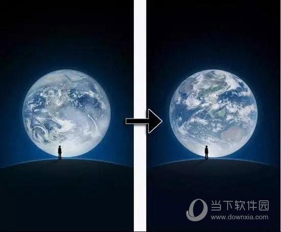 微信登录界面地球变换