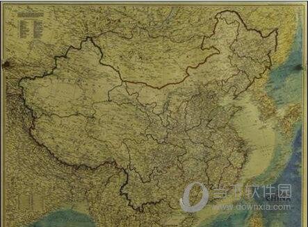 文明6中国及周边地区地图MOD