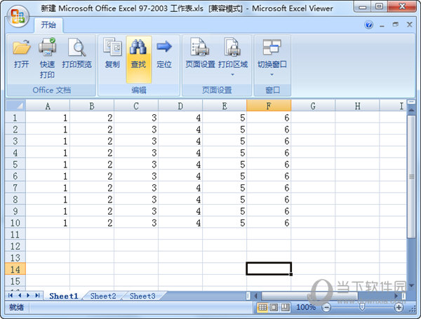 Excel Viewer 2007