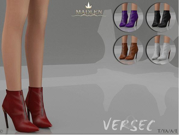 模拟人生4Versec女式简约流行尖头高跟鞋MOD