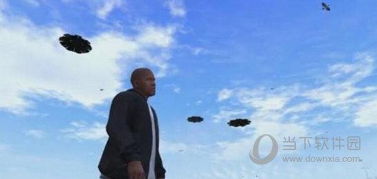 侠盗猎车手5 漂浮的UFOMOD