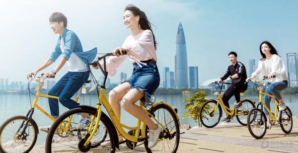 共享单车宣传图
