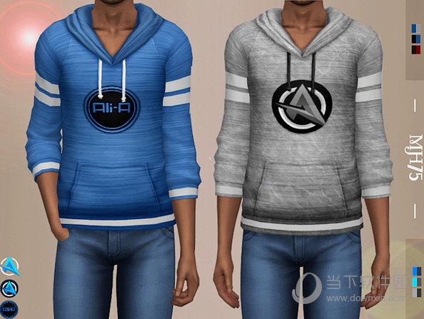 模拟人生4Ali-A标志长袖卫衣MOD