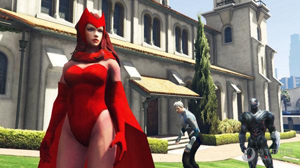 GTA5漫威绯红女巫MOD