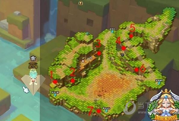 1处:宝箱在绿树后的洞里。 2处:站在此处对墙壁使用技能可进入宝箱洞。 3处:在有鲜花的地方旁边有个棱角不尖的土块,打破进去,就能找到宝箱。 4处:宝箱在望远镜左边后面的墙壁上的洞里。 5处:在有许多树的地方,它们的左边有个破棱角不尖的土块,打破它,宝箱就在里面。 6处:宝箱在有两个树的上面,鼠标轮往上滑即可看见。 7处:宝箱在侧面的洞里。 以上就是小编为大家带来冒险岛2五彩森林黄金宝箱位置分布的相关介绍了,从这7个地点来看,我个人认为对于玩家来说获取的难度应该是不大的,同时当你找到全部黄金宝箱之后,你将