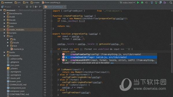 WebStorm JavaScript