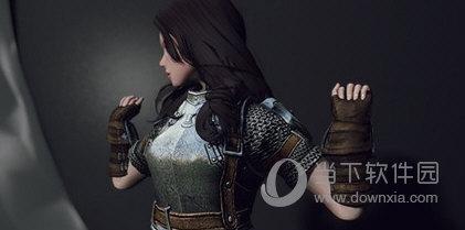 上古卷轴5女式骑士盔甲MOD