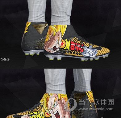 实况足球2018龙珠周边球鞋补丁