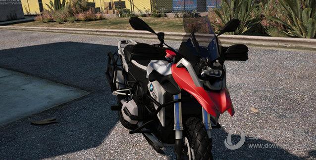 GTA5宝马BMWR1200GS摩托车MOD