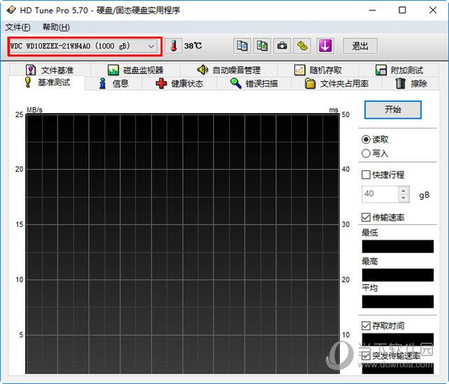 最上方显示硬盘的厂家信息