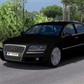 欧洲卡车模拟2奥迪A8升级版与模板MOD V1.0 免费版
