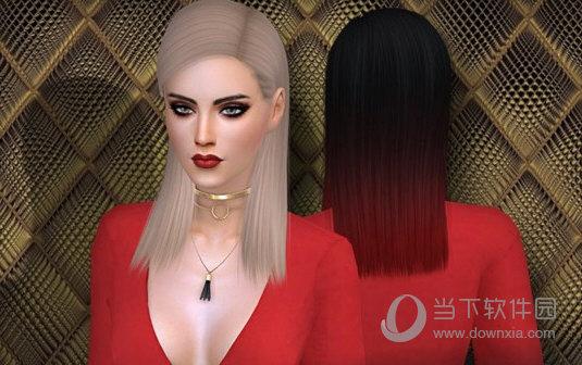模拟人生4Tay干练的女式披肩直发MOD
