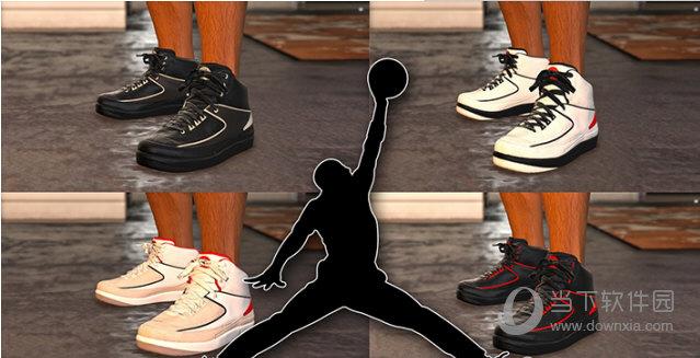 GTA5AirJordan乔丹篮球鞋整合包MOD