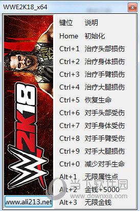 WWE2K18十三项修改器