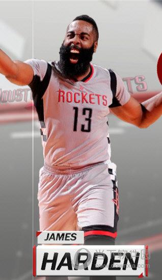 NBA2K18大胡子哈登高清照片补丁