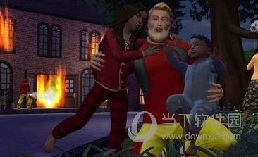 模拟人生4消防员职业汉化MOD
