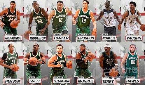 NBA 2K18雄鹿全队球员照片补丁