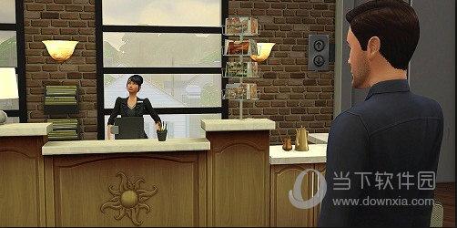模拟人生4酒店管理职业汉化MOD